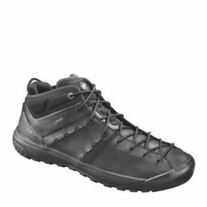 3020-06090-0052 Hueco Advanced Mid GTX(R) Men black-black マムート メンズ シューズ トレッキングシューズ (MAT)(QBJ37) fieldboss