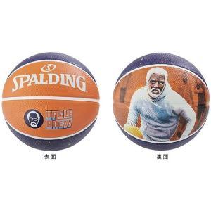 バスケットボール 7号 71-1428 UNCLE DREW プレイヤーアクションラバーボール 7 スポルディング バスケットボール 7号球 (SP)(QBJ37)|fieldboss