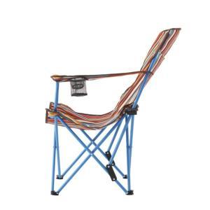 #73173025 リクライナーチェア(オレンジストライプ) LOGOS 椅子 いす (HN)(QBJ37)|fieldboss|02