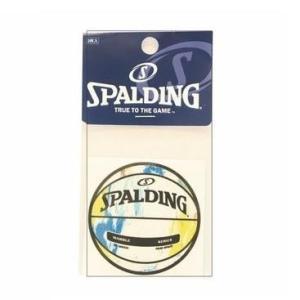 バスケ ステッカー バスケ シール バスケットボール ステッカー 14-001ML ボールステッカーマーブルマルチ (SP)(QBJ37)|fieldboss