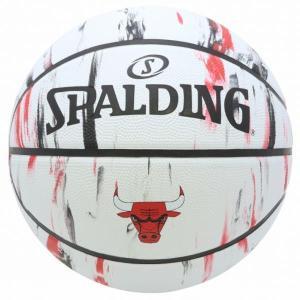 バスケットボール バスケットボール 7号 バスケットボール 7号球 83-930J-7 ブルズ マーブル SIZE 7 (SP)(QBJ37)|fieldboss