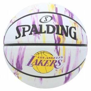 バスケットボール バスケットボール 7号 バスケットボール 7号球 83-933J-7 レイカーズ マーブル SIZE 7 (SP)(QBJ37)|fieldboss