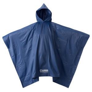 カッパ レインウェア 雨具 #23712159 LIPNER PVC ポンチョ ブルー フリー (HN)(QBJ37) fieldboss