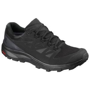 ランニングシューズ メンズ スニーカー メンズ 靴 メンズ OUTline GORE-TEX BLACK/PHANTOM/MAGNET (SAM)(QBJ37)|fieldboss