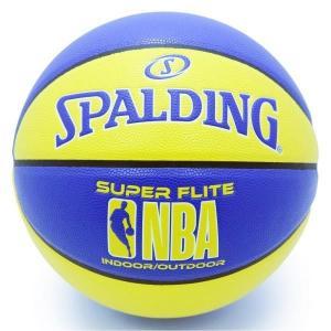 バスケットボール バスケットボール 7号 バスケットボール 7号球 76-350Z NBA スーパーフライト ブルーxイエロー SIZE 7  (SP)(QBJ37)|fieldboss