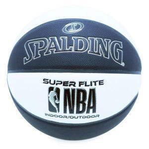 バスケットボール バスケットボール 7号 バスケットボール 7号球 76-351Z NBA スーパーフライト ブラックxホワイト SIZE 7  (SP)(QBJ37)|fieldboss