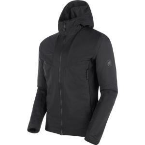 ジャケット メンズ パーカー メンズ ウィンドウェア メンズ Rime Light IN Flex Hooded Jacket AF Men BLACK  (MAT)|fieldboss