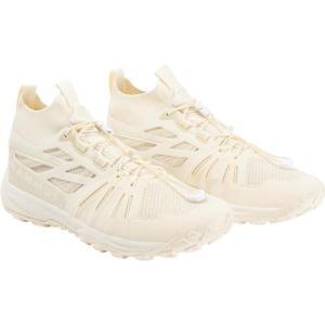 トレッキングシューズ メンズ 登山靴 メンズ 3030-03390 Saentis Knit Low Men SOFT WHITE  (MAT) fieldboss