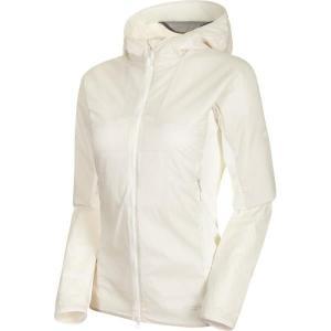 ジャケット レディース パーカー レディース ウィンドウェア レディース Rime Light IN Flex Hooded Jacket AF Women BRIGHT WHITE  (MAT)|fieldboss