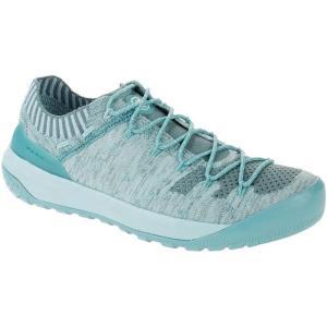 トレッキングシューズ レディース 登山靴 レディース 3020-06200 Hueco Knit Low Women WATERS-LIGHT  (MAT) fieldboss