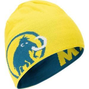 ニット帽 ビーニー 帽子 119104891-50269 Mammut Logo Beanie SAPPHIRE-BLA  (MAT)|fieldboss