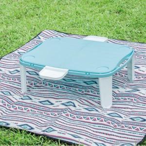 テーブル 折りたたみ テーブル アウトドア 机 BD-143 ミニレジャーテーブル  (KA)|fieldboss