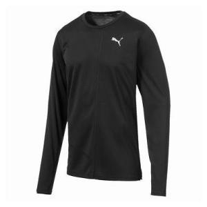 ロングTシャツ メンズ 長袖シャツ メンズ カットソー メンズ FAVORITEイグナイト LS Tシャツ PUMA BLACK  (JSP) fieldboss