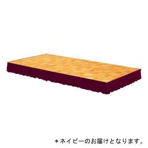 ステージスカート ステージカーテンステージスカート 400用(ネイビー/マジックテープ式)D-1906NB 特殊送料:ランク(G-1)(DAN)(QBJ37)