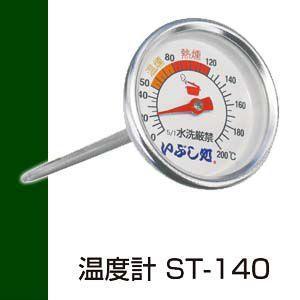 ●燻製づくりには温度管理が肝心です。