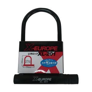 X-EUROPE クロスヨーロッパ U字ロック 鍵3本付 XL-201の商品画像 ナビ
