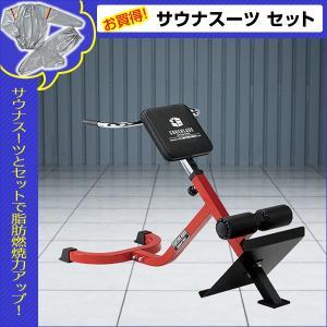 ・背筋運動専用ベンチ。 ・体型に合わせてシートの高さを調節可能。 ・可動範囲が広いので効果的にトレー...