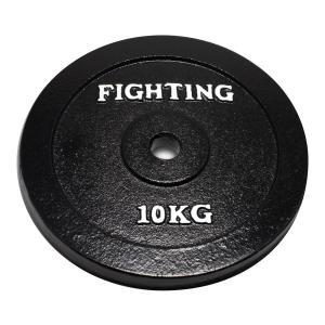 プレート(ラバータイプ)10kg 【単品プレート】 / バーベル、ダンベル兼用*