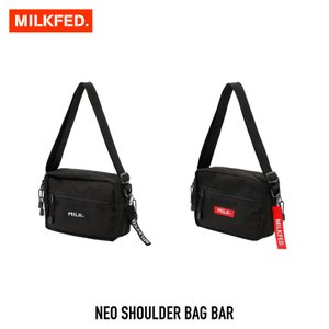 【クーポンで10%OFF!】ミルクフェド MILKFED. バッグ NEO SHOULDER BAG BAR ネオ ショルダー バッグ バー 03182097|figure-corners