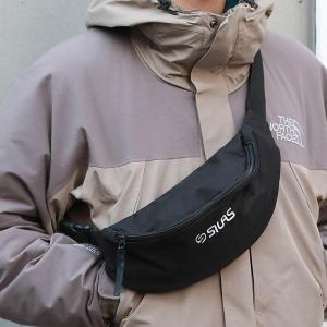 【35%OFF・セール】サイラス SILAS ロゴ ベルト バッグ LOGO BELT BAG 10182004 メンズ レディーズ ウエストバッグ|figure-corners