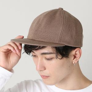 クレプスキュール crepuscule 帽子 ニット ベース ボール キャップ B.B cap 1901-008 メンズ  キャップ|figure-corners