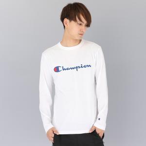 セール チャンピオン CHAMPION ロングスリーブ Tシャツ LONG SLEEVE T-SHIRT C3-J426 メンズ カットソー|figure-corners