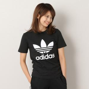 【ポイント5倍】アディダス adidas トレフォイル 半袖 Tシャツ TREFOIL TEE - CV9888 レディース カットソー|figure-corners