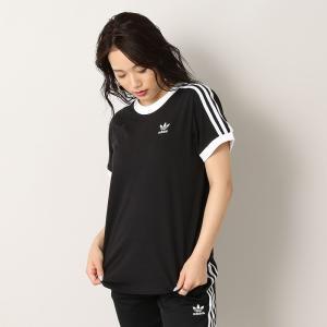 【ポイント5倍】アディダス adidas 3ストライプ Tシャツ 3 STRIPES TEE - CY4751 レディース カットソー figure-corners