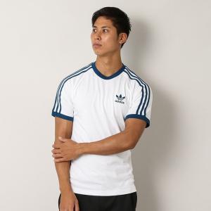 アディダス adidas スリース トライプス Tシャツ 3 STRIPES TEE - DY1532 メンズ カットソー|figure-corners