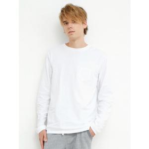 【ポイント10倍】グッドオン GOOD ON Tシャツ L/S POCKET T-SHIRTS GOLT1306 ロングTシャツ ポケット|figure-corners