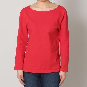 グッドオン GOOD ON ウィメンズ ロングスリーブ ボートネック Tシャツ L/S BOATNECK TEE LADYS - GOLT1901-L レディース トップス|figure-corners