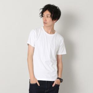 ヘインズ HANES  トップス ジャパンフィットクルーネックTシャツ Hanes 2P Japan Fit crewneck T - H5310 メンズ カットソー|figure-corners