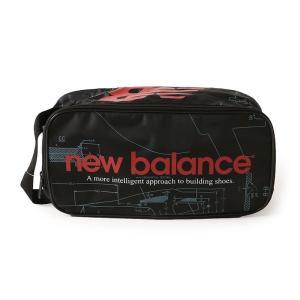【ポイント3倍】ニューバランス NEW BALANCE JABL8706 プリントシューズケース - JABL8706|figure-corners