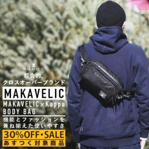 【ポイント10倍】マキャべリック×カッパ MAKAVELIC×Kappa BODY BAG - KL918BA03 ボディ バッグ|figure-corners