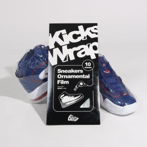 キックスラップ KicksWrap スニーカー観賞用フィルム シュリンクフィルム 保存用 観賞用 防塵 figure-corners