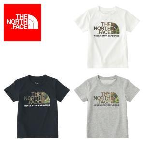 ザ ノースフェイス THE NORTH FACE Tシャツ S/S Camo Logo Tee ショートスリーブカモロゴティー(キッズ/ベビー)NTJ31824|figure-corners