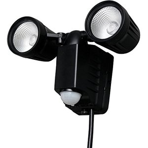 アイリスオーヤマ センサーライト LED AC式 防犯 LSL-ACTN-800D fiinet