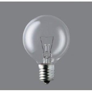 パナソニック 5個セット ボール電球 50mm径 50W形 E17口金 クリア GC100V48W50E17_set|fiinet