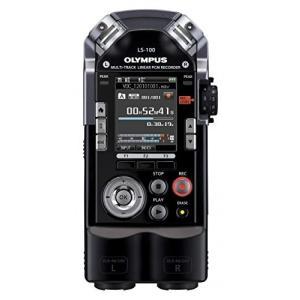 OLYMPUS マルチトラックリニアPCMレコーダー LS-100 ブラック 4GB SDカードスロット 最大耐音圧140dBspl XLRコネクタ搭載 マルチトラック録音対応 LS-100|fiinet