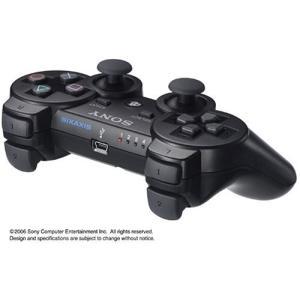 『中古即納』{ACC}{PS3}PS3専用ワイヤレスコントローラ SIXAXIS ブラック SCE CECHZC1J 20061111 の商品画像 ナビ
