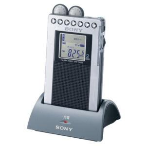 SONY FMステレオ/AMポケッタブルラジオ R433 シルバー SRF-R433/S|fiinet