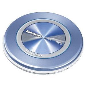 パナソニック ポータブルCDプレーヤー ブルー D‐SOUND SL-CT520-A|fiinet