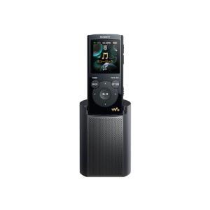 SONY ウォークマン Eシリーズ [メモリータイプ] スピーカー付 4GB ブラック NW-E063K/B|fiinet