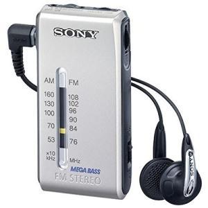 SONY FMステレオ/AMポケッタブルラジオ シルバー SRF-S86/S|fiinet