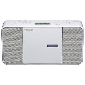 TOSHIBA(東芝) CDラジオ TY-C250-W (ホワイト)|fiinet