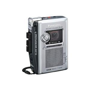 Panasonic ミニカセットレコーダー RQ-L26-S(シルバー) 25時間連続録音|fiinet