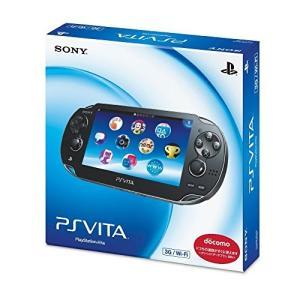 PlayStation Vita (プレイステーション ヴィータ) 3G/Wi-Fiモデル クリスタル・ブラック 限定版 (PCH-1100AB01)|fiinet