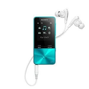 ソニー SONY ウォークマン Sシリーズ 16GB NW-S315 : Bluetooth対応 最大52時間連続再生 イヤホン付属 2017年モデル ブルー NW-S315 L|fiinet