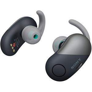 ソニー SONY 完全ワイヤレスノイズキャンセリングイヤホン WF-SP700N BM : Bluetooth対応 左右分離型 防滴仕様 2018年モデル ブラック|fiinet