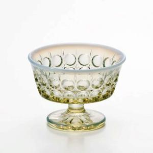 ■業務用高級グラスとして最適です。  ■ハンドメイド  ■柔らかな色合いのオパール古色のデザート食器...